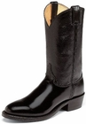Justin Boots Workboots Collection Black Melo Veal Uniform Boots 3040