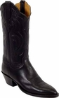 Ladies Lucchese Classics Black Glove Calf Custom Hand-Made Western Boots L4532