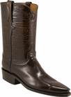 Ladies Lucchese Classics Brown Goat Leather Custom Hand-Made Roper Boots L5506
