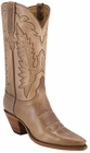 Ladies Lucchese Classics Buck Oil Calf Custom Hand-Made Western Boots L4547