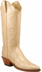 Ladies Lucchese Classics Champagne Marble Patent Leather Custom Hand-Made Western Boots L4707