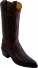 Ladies Lucchese Classics Chocolate Mad Dog Goat Custom Hand-Made Western Boots L4610