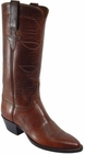 Ladies Lucchese Classics Chocolate Oil Calf Custom Hand-Made Western Boots L4524