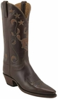 Ladies Lucchese Classics Chocolate Oil Calf Custom Hand-Made Western Boots L4626