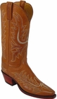 Ladies Lucchese Classics Cognac Ranch Hand Custom Hand-Made Western Boots L4571