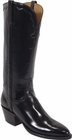 Ladies Lucchese Classics Granada Black Goat Leather Custom Hand-Made Boots L4505
