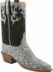 Ladies Lucchese Classics Granite Full Quill Ostrich Custom Hand-Made Western Boots L4137