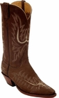 Ladies Lucchese Classics Mayela Stitch Chocolate NuBuck Custom Hand-Made Cowgirl Boots L4554