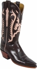 Ladies Lucchese Classics Pony Brown Buffalo Custom Hand-Made Western Boots L4578