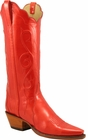 Ladies Lucchese Classics Red Marble Patent Leather Custom Hand-Made Western Boots L4706