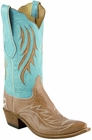 Ladies Lucchese Classics Vanilla Burnished Custom Leather Boots L4710
