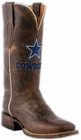 Ladies Lucchese NFL Dallas Cowboys Tan Madras Goat Horseman Boots M5054