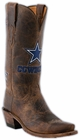 Ladies Lucchese NFL Dallas Cowboys Tan Madras Goat Western Boots M5053