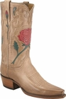 Ladies Lucchese Vintage Classics Pearl Mad Dog Goat Custom Hand-Made Cowgirl Boots L7035