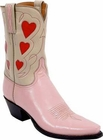 Ladies Lucchese Vintage Classics Pink Goat Custom Hand-Made Cowgirl Boots L7003
