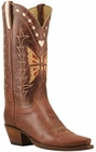 Ladies Lucchese Vintage Classics Whiskey Monterrey Leather Custom Hand-Made Cowgirl Boots L7053