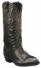 Laredo Mens Black Deertan Traditional Western Leather Boots 6691