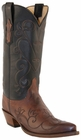 Lucchese Classic Lucchese Classic with Valentina Pattern Tan Burnished Ranch L4712