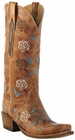 Lucchese Classic with Cindy Stitch Pattern Destroyed Pearwood Goat L4715