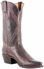 Lucchese Classic with Hobby II Cord Pattern Bordeaux Burnished Baby Buffalo L1676
