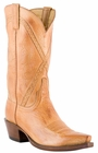 Lucchese Classic with Hobby II Cord Pattern Caramel Burnished Baby Buffalo L1677