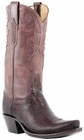 Lucchese Classics Ladies STINGRAY Leather Cowboy Boots - 2 Styles