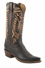 Lucchese Classics Mens Chocolate Burnished Mad Dog Goat Cowboy Boots L1670
