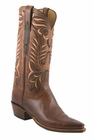 Lucchese Classics Mens Peanut Brittle Burnished Mad Dog Goat Cowboy Boots L1669