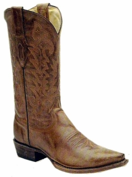 Men's Corral Vintage Tan Cowhide Leather Boot C1926