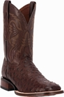 """Men's Dan Post """"Alamosa"""" Chocolate Mad Dog Full Quill Ostrich Cowboy Certified Boot DP3875"""