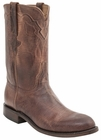Men's Lucchese Classics Peanut Brittle Goat Leather Roper Boots L3573