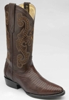 Mens Circle G by Corral Chocolate Teju Lizard Boots L5011