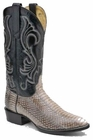 Mens Circle G by Corral Natural Cobra Boots 171160