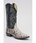 Mens Circle G by Corral Natural Python Boots 211160