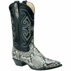 Mens Corral Natural Python Back Western Boots C1805