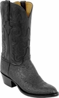 Mens Lucchese Classics Black African Elephant Custom Hand-Made Cowboy Boots L1227