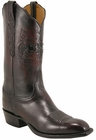 Mens Lucchese Classics Black Cherry Goat Custom Hand-Made Cowboy Boots L1622