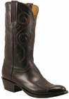 Mens Lucchese Classics Black Cherry Kangaroo Custom Hand-Made Cowboy Boots L1700