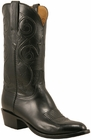Mens Lucchese Classics Black Kangaroo Custom Hand-Made Cowboy Boots L1701