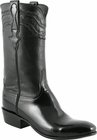 Mens Lucchese Classics Black Patent Calf Custom Hand-Made San Antonio McKay Collection Cowboy Boots L9505