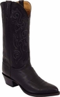 Mens Lucchese Classics Black Ranch Hand Custom Hand-Made Cowboy Boots L1535
