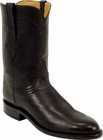Mens Lucchese Classics Black Ranch Hand Custom Hand-Made Roper Boots L3515
