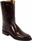 Mens Lucchese Classics Brown Goat Custom Hand-Made Roper Boots L3507