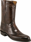 Mens Lucchese Classics Brown Goat Custom Hand-Made Roper Boots L3519