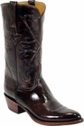 Mens Lucchese Classics Brown Kangaroo Custom Hand-Made Cowboy Boots L1502