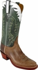 Mens Lucchese Classics Buck Oil Calf Double Leather Sole Custom Hand-Made Cowboy Boots L1590