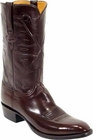 Mens Lucchese Classics Chocolate Kangaroo Custom Hand-Made Cowboy Boots L1503