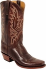 Mens Lucchese Classics Chocolate Oil Calf Custom Hand-Made Cowboy Boots L1569