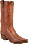 Mens Lucchese Classics Cognac Goat Custom Hand-Made Cowboy Boots L1627
