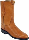 Mens Lucchese Classics Cognac Ranch Hand Custom Hand-Made Roper Boots L3517